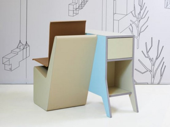 006 SideSeat: A Desk, A Chair And A Storage Space In One - DigsDi