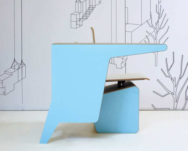 PROOFF Debuts Chic, Multifunctional #006 SideSeat at the London .