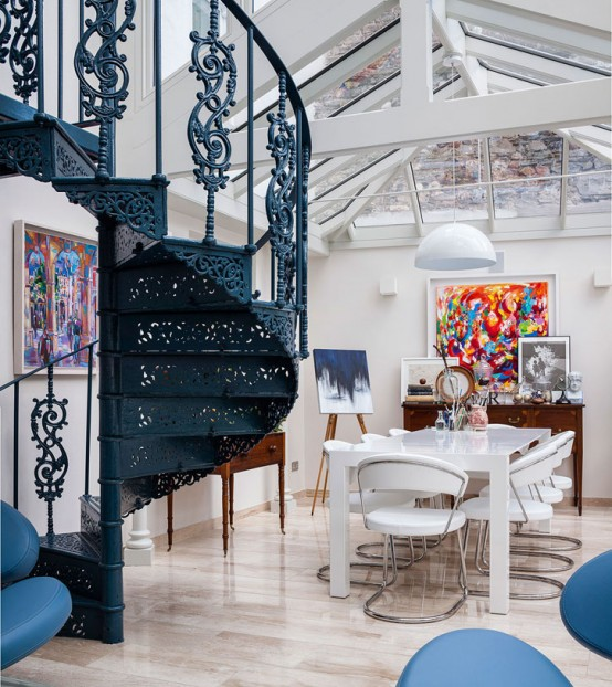 18th Century Conservatory Turned Into A Modern Home - DigsDi