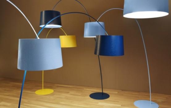 1960s Iconic Twiggy Lamp Re-Edition By Foscarini - DigsDi
