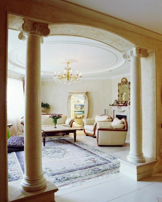 35 Modern Interior Design Ideas Incorporating Columns into .