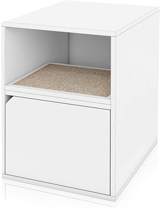 Amazon.com: Way Basics Eco Cat Litter Box Duplex Enclosure (Tool .