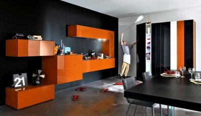 The 36e8 Contemporary Kitchen System from Lago of Ita