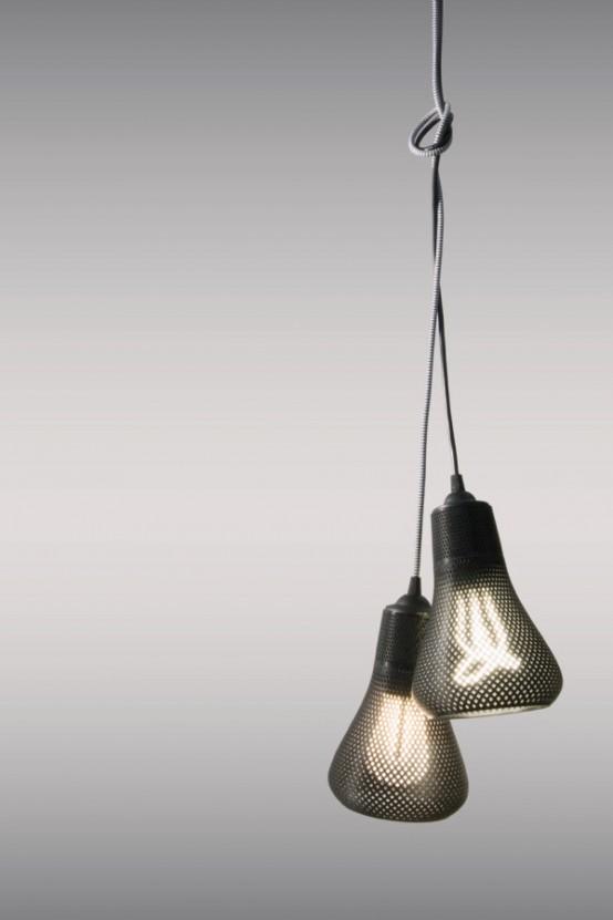 3D Printed Tailored Lampshades For Plumen Bulbs - DigsDi