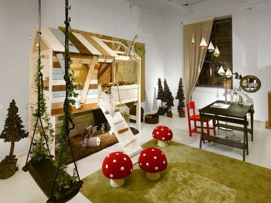 Magical garden. | Cool kids rooms, Kids bedroom inspiration .