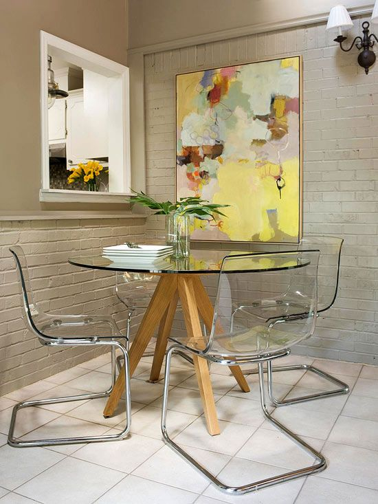 33 Apartment Decorating Ideas to Steal Right Now | Dining room .