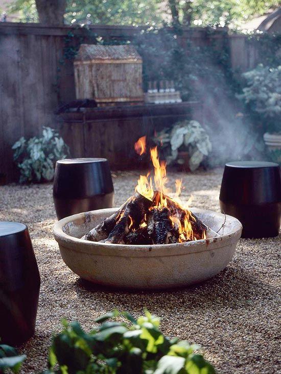 16 Great Patio Ideas | Outdoor fire pit, Fire pit backyard .