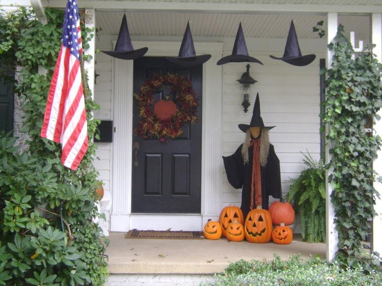 125 Cool Outdoor Halloween Decorating Ideas - DigsDi