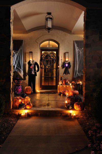 90 Cool Outdoor Halloween Decorating | Halloween decorations .