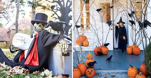 125 Cool Outdoor Halloween Decorating Ideas | Halloween outdoor .