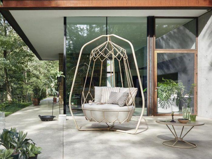 Gravity, The Roberti Rattan Outdoor Swing Sofa Design | Swinging .