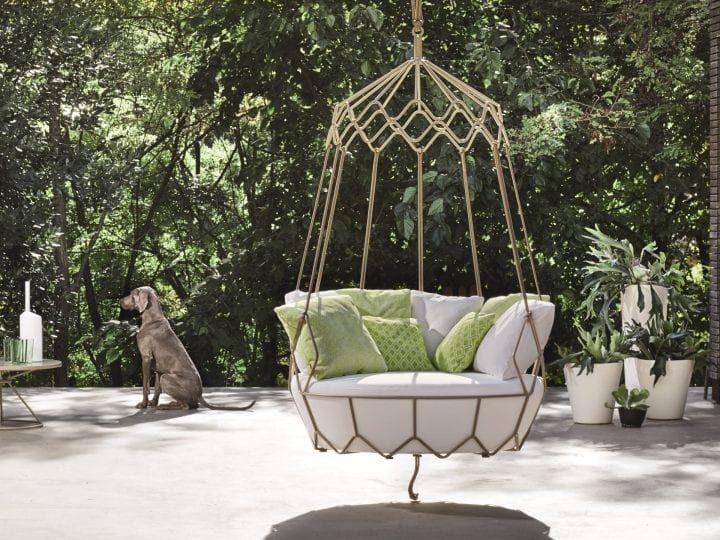 Gravity, The Roberti Rattan Outdoor Swing Sofa Design | Sofa .