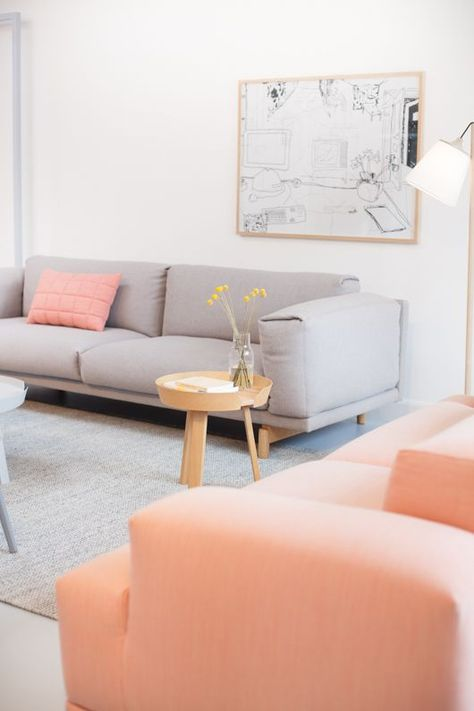 31 Affectionate Peach Accents In Home Décor | DigsDigs | Coral .