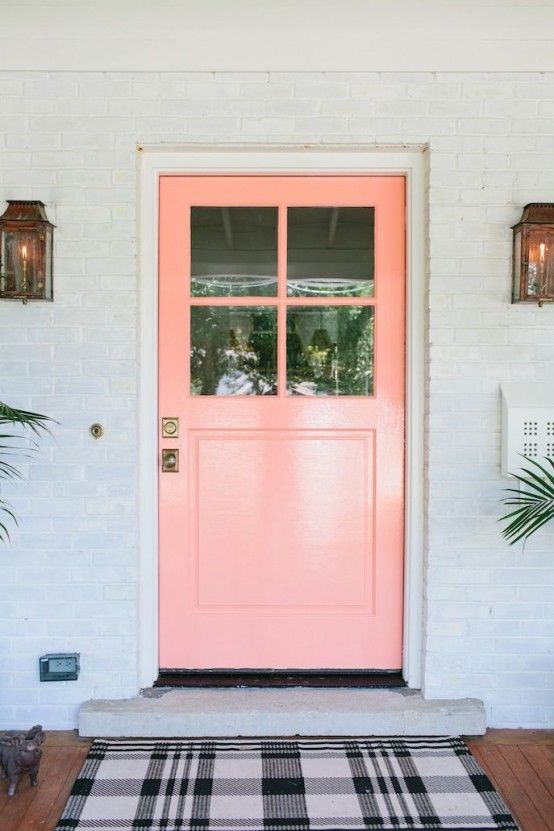 31 Affectionate Peach Accents In Home Décor | Beautiful front .