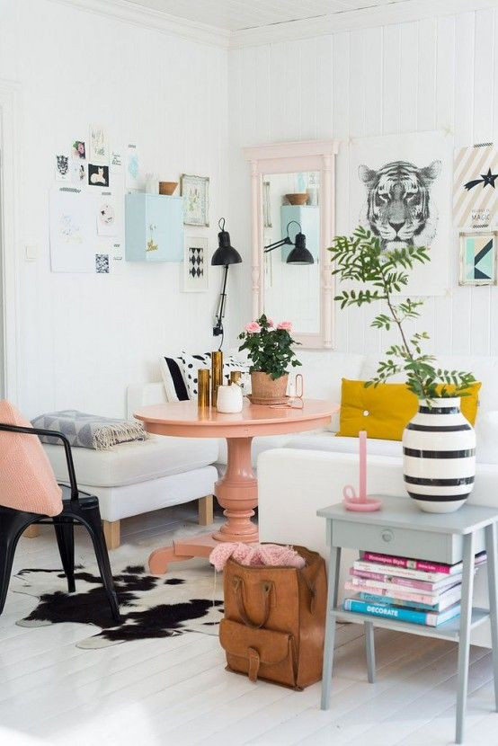 31 Affectionate Peach Accents In Home Décor | Home decor, Decor .