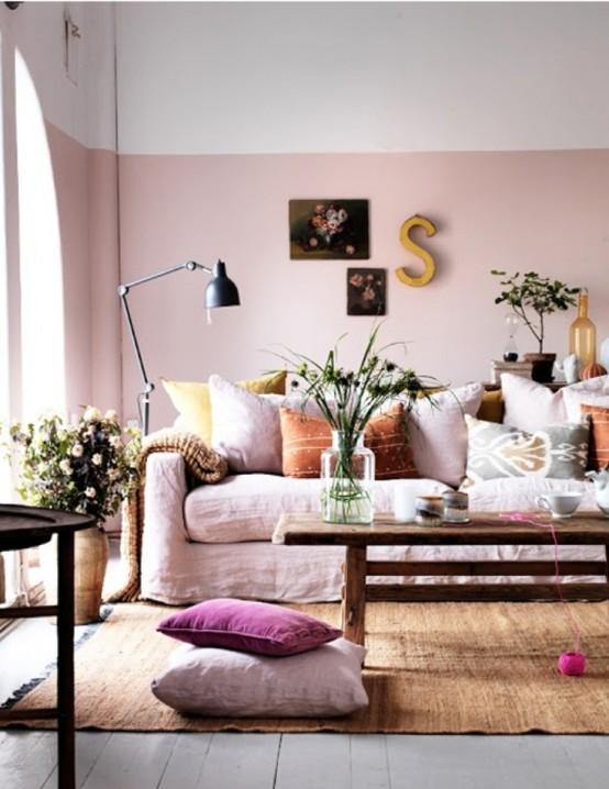 66 Airy And Elegant Feminine Living Rooms - DigsDi