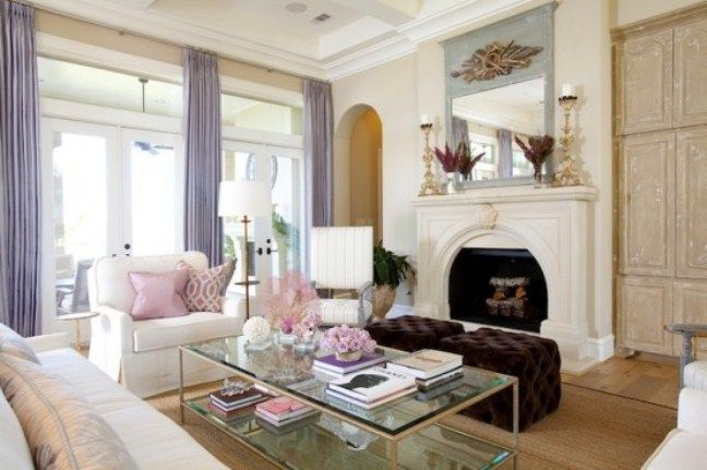 airy and elegant feminine living rooms 5 Stylish And Sophisticated .