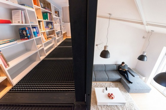 Airy And Spacious Modern Loft With A Second Floor - DigsDi