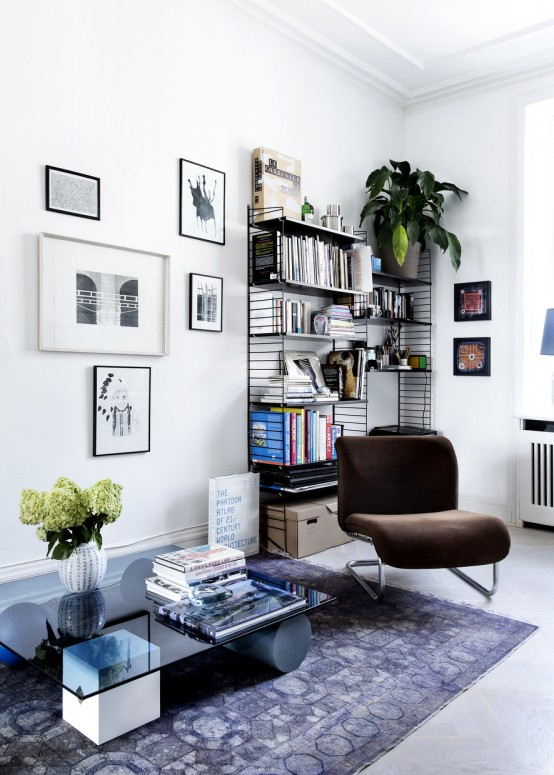 Airy Scandinavian And Mid-Century Modern Apartment - DigsDi