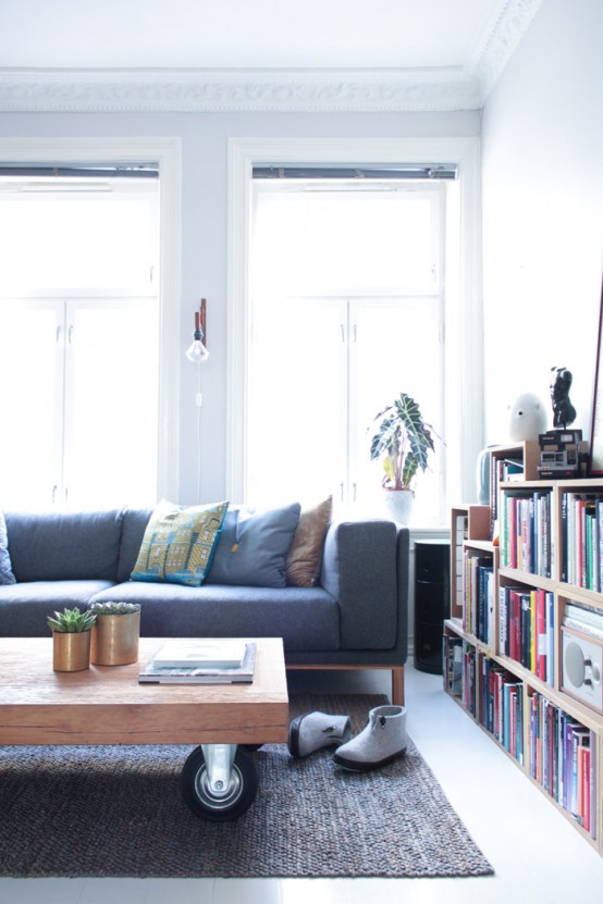 Lovely Airy Scandinavian And Mid Century Modern Apartment Digsdigs .