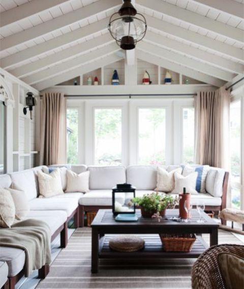 28 Airy Scandinavian Sunroom Designs - DigsDigs | Home, Sunroom .