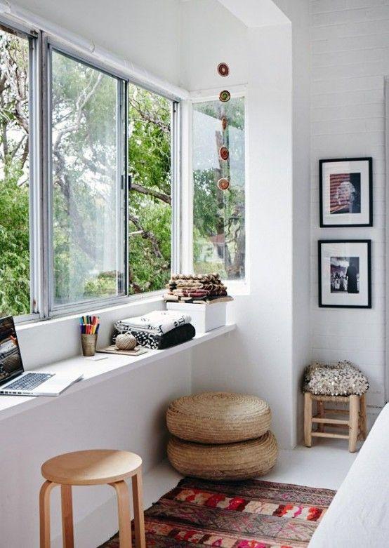 28 Airy Scandinavian Sunroom Designs | Home deco, Home, Interi