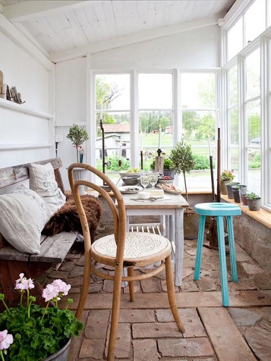 28 Airy Scandinavian Sunroom Designs - DigsDi