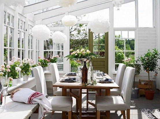 28 Airy Scandinavian Sunroom Designs | Sunroom decorating, Sunroom .