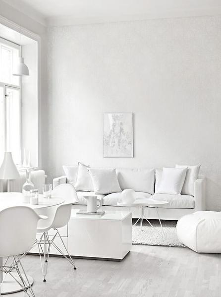White Interior Design Ideas | The Do's and Don'