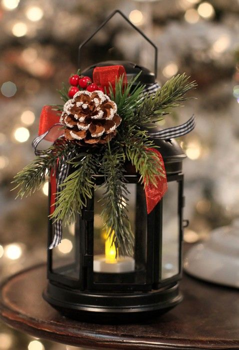47 Amazing Christmas Lantern Decor To Brighten Up Your Home in .