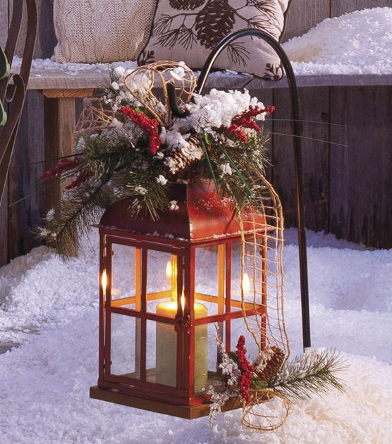 41 amazing christmas lanterns for indoors and outdoors - DigsDigs .