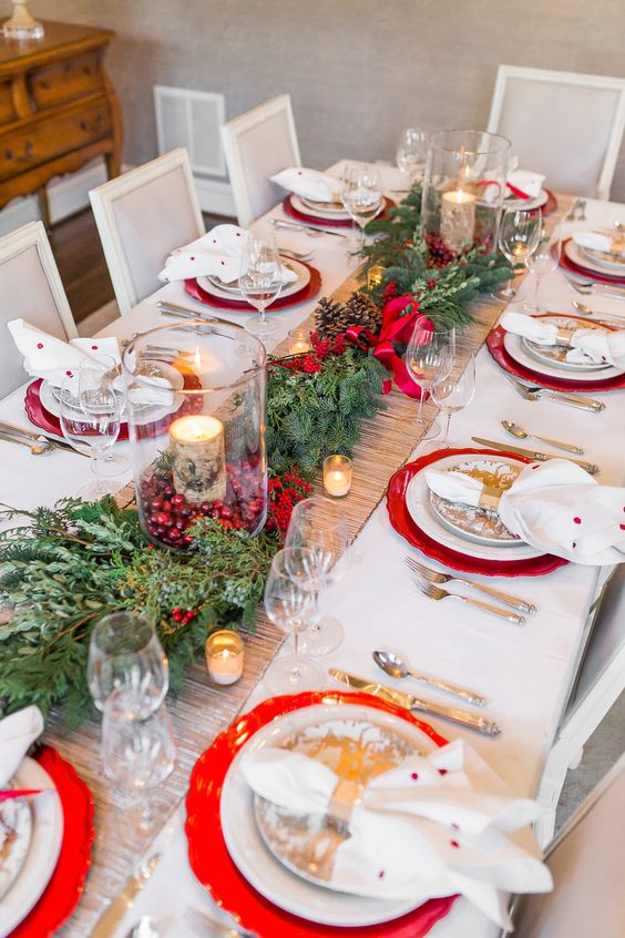 christmas-table-decorations-09 - Christmas Celebration - All about .