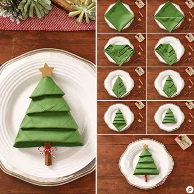 17 Best Christmas Table Decorations - Easy Holiday Home Craf