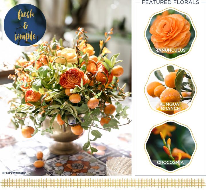 38 Flower Ideas for Your Thanksgiving Centerpie