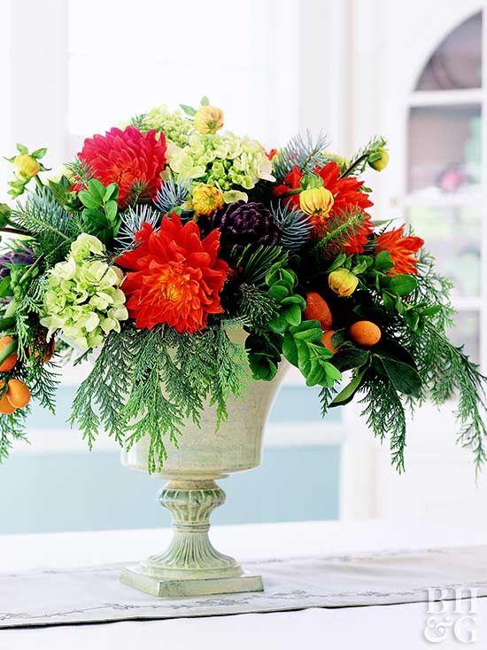 Beautiful Wedding Centerpiece Ideas   Fall flower arrangements .