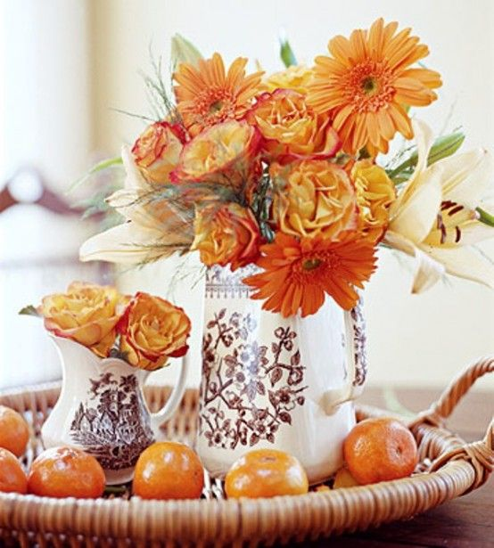 42 Amazing Flower Decorations For A Thanksgiving Table   DigsDigs .