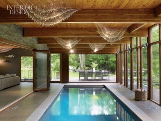 Amazing Indoor Pools To Enjoy Swimming At Any Time | บ้านโมเดิร์น .