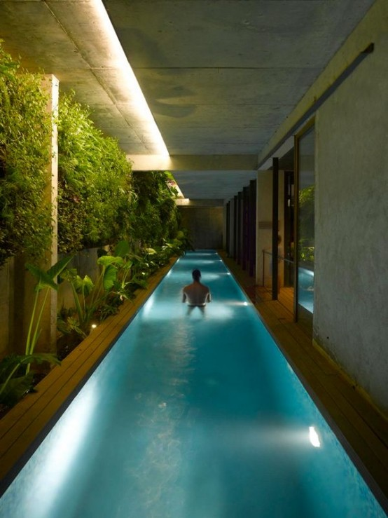 23 Amazing Indoor Pools To Enjoy Swimming At Any Time - DigsDi