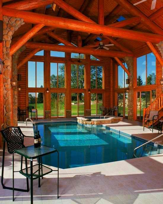 23 Amazing Indoor Pools To Enjoy Swimming At Any Time (With images .