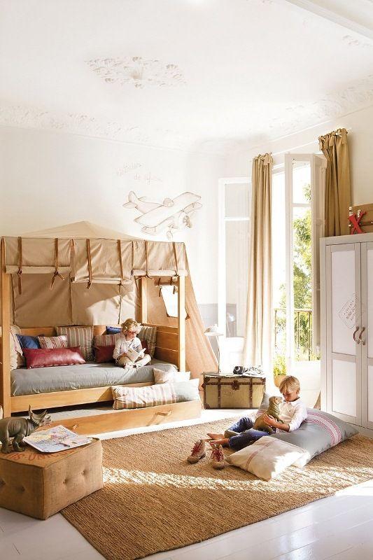 Amazing Kid's Room Design In Calm Shades | Kids bedroom .