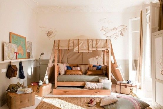 Wonderful Calm Shades Design For Kid's Room | Cool kids bedrooms .