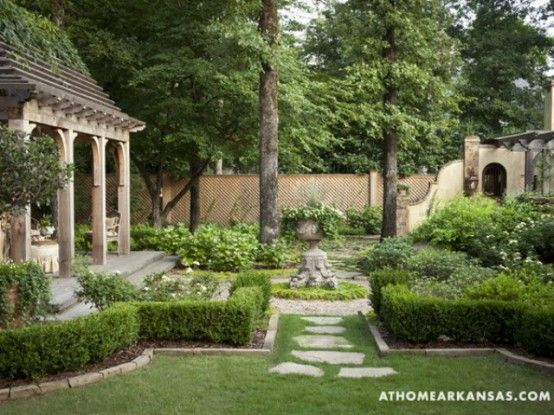 Amazing Old European Style Garden And Terrace Design   French .