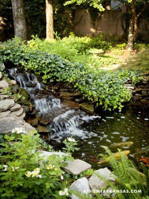 Amazing Old European Style Garden And Terrace Design   Waterfalls .