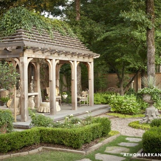Amazing Old European Style Garden And Terrace Design   DigsDigs .