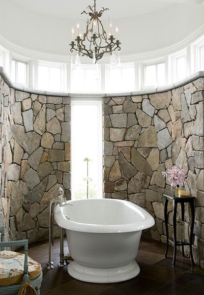 35 Amazing Raw Stone Bathroom Design Ideas   Дизайн ванной, Дом .