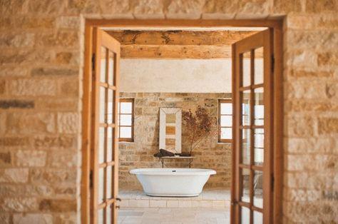 35 Amazing Raw Stone Bathroom Design Ideas   DigsDigs   Natural .