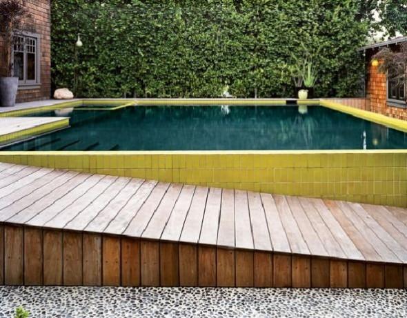 Amazing Lifted Pool Designed In Retro Style | modernhol