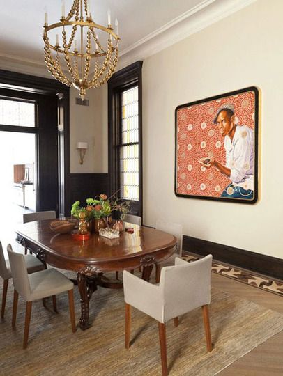 Old & New: Pairing Antique Dining Tables with Contemporary Chairs .