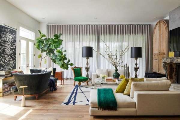 Designer Janet Gust's Galleria-area home whimsically blends .