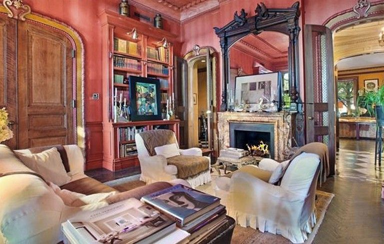 10+ Awesome Vintage Antique Edwardian Decor Apartment in NYC   Red .